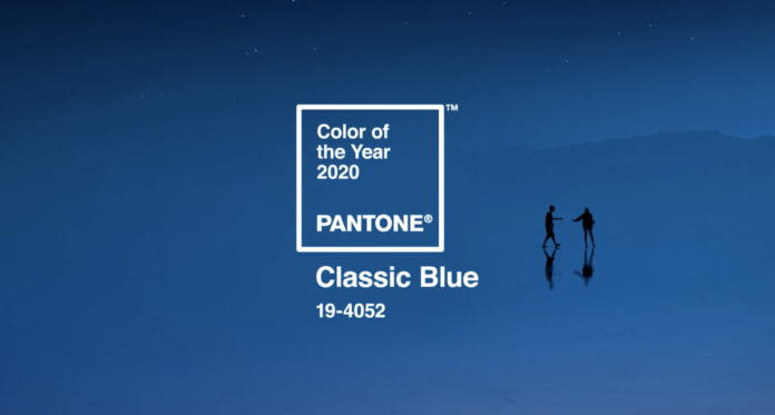 Classic Blue Color of the Year 2020 Courtesy Pantone 696x373